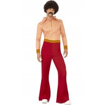 Festivalshop - 70′s Kostuum Authentic guy - SM43189