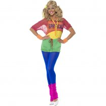 Festivalshop - 80′s Let′s Get Physical Fitness Outfit - SM39465