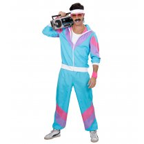Festivalshop - 80′s Training Shell Suit blauw - WD98871
