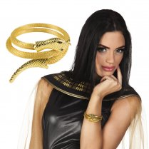 Festivalshop - Armband goud serpent of the Nile - BO64465