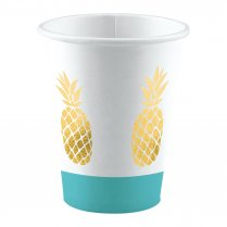 Festivalshop - Bekers Pineapple Vibes zomer 250ml - AM9903309