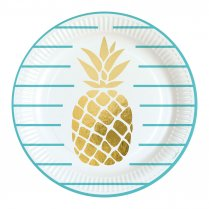 Festivalshop - Borden Ananas Pineapple Vibes Goud - AM9903307