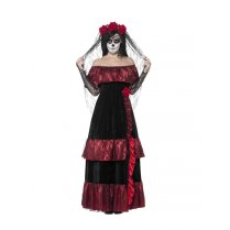 Festivalshop - Bruid Day of the Dead deluxe - SM43739
