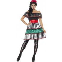 Festivalshop - Day of the Dead senorita doll - SM48077