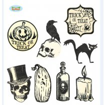 Festivalshop - Decoratie set Halloween retro - FG26315
