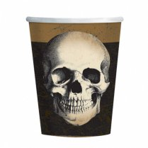 Festivalshop - Drinkbekers schedel boneyard 250ml - AM9902251