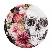 Festivalshop - Eetborden Day of the dead 6 st - BO97076