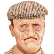 Festivalshop - Halfmasker Latex Grandfather - WD00458