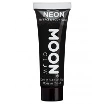 Festivalshop - Moon UV face & body paint pastel zwart - SMM5083