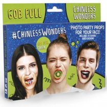 Festivalshop - Photo party props Chinless Wonders gob - RECWGOB01